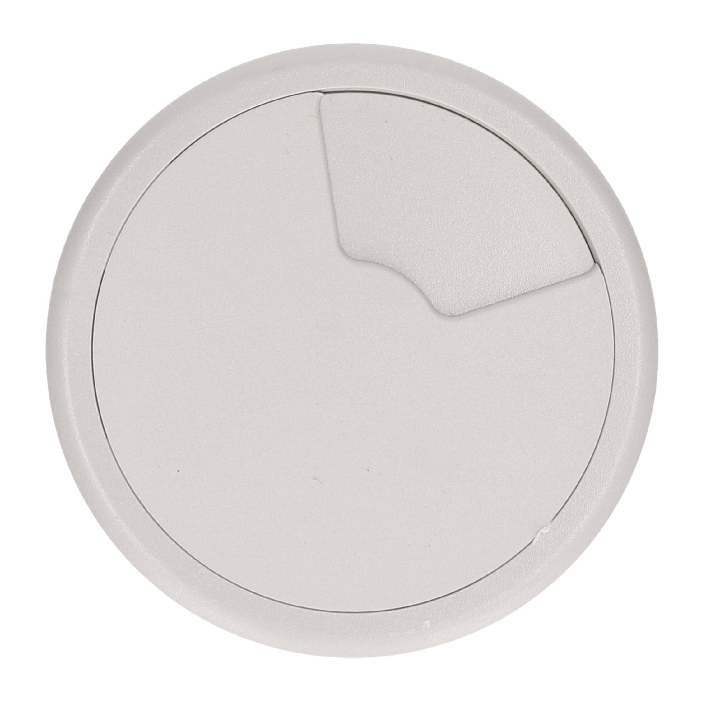 Kabeldoorvoer licht grijs 80 mm