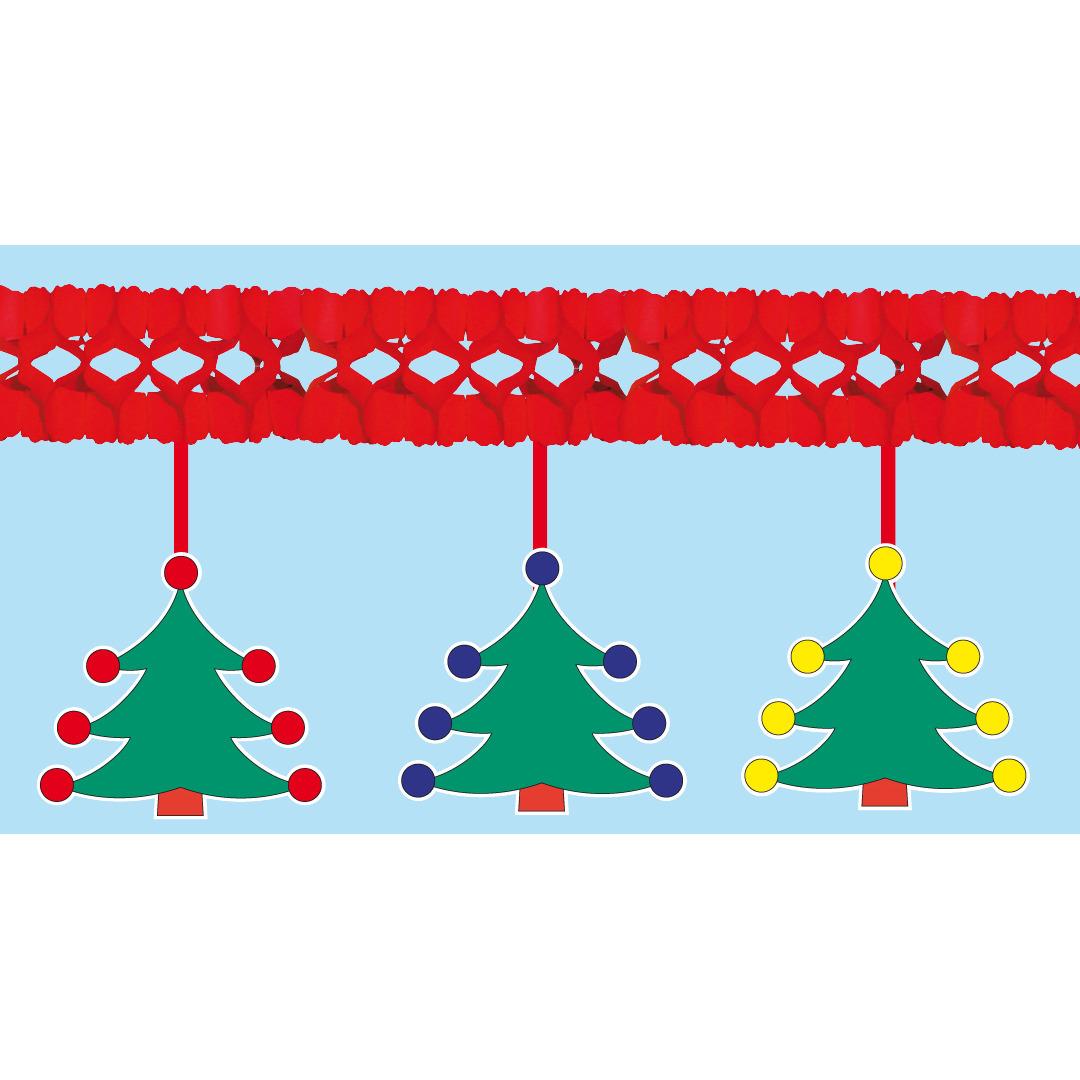 Kerstbomen slinger brandvertragend