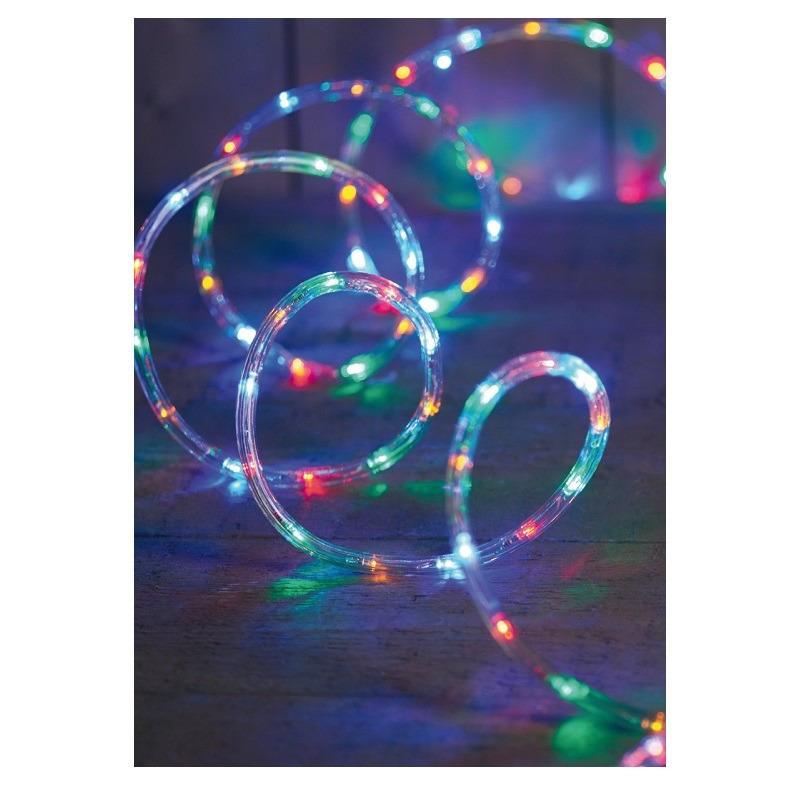 Kerstverlichting lichtslang 216 lampjes gekleurd 9 m