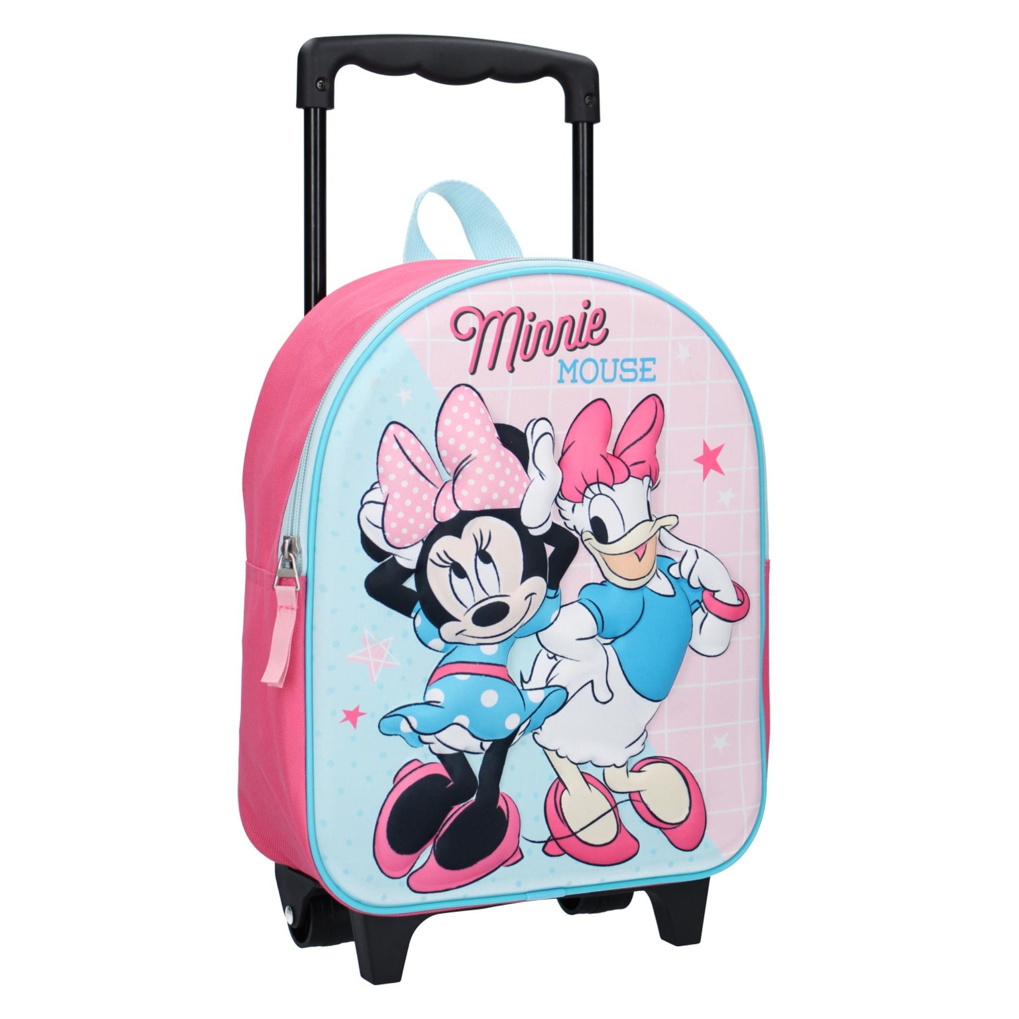Minnie Mouse handbagage reiskoffer-trolley 31 cm voor kinderen