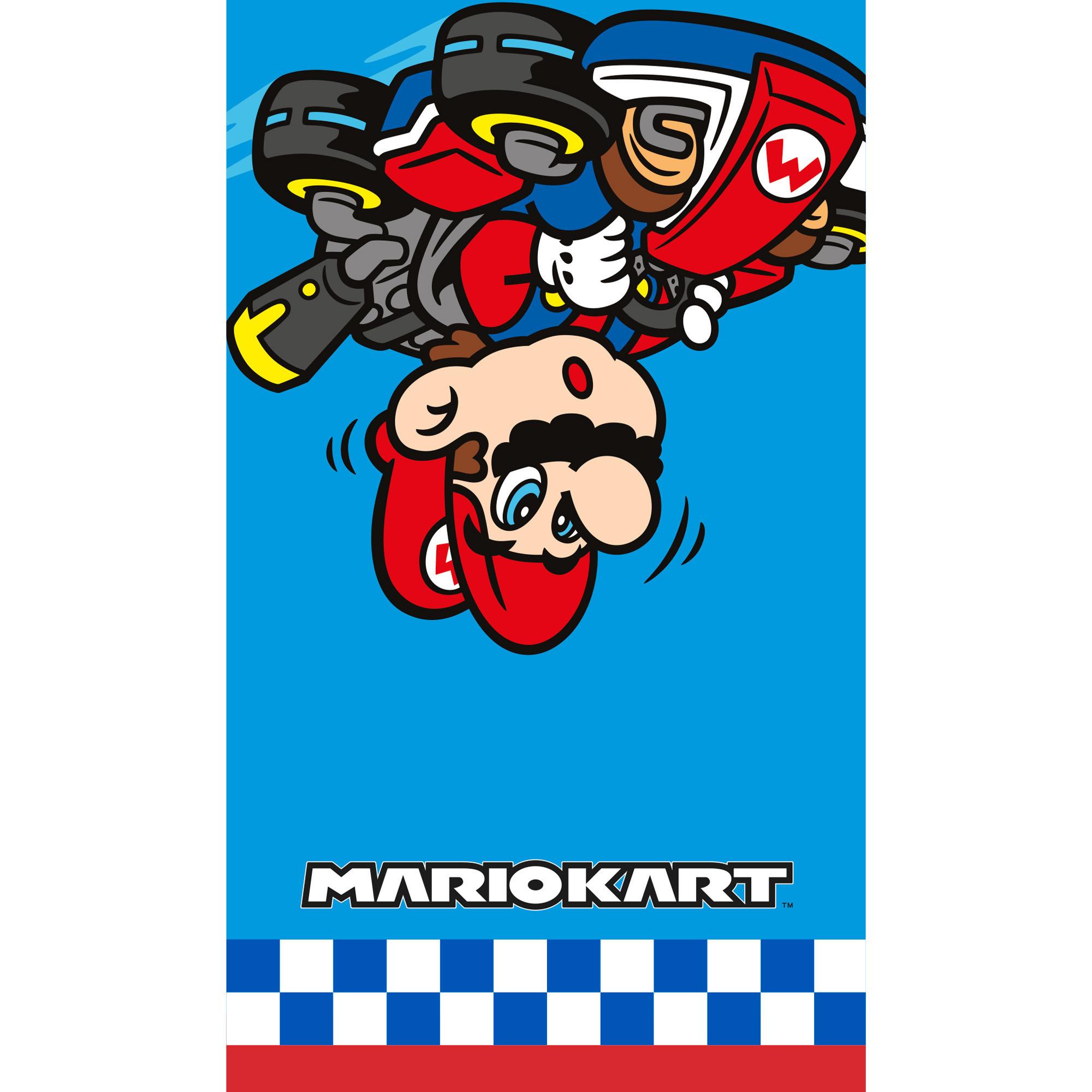 Nintendo Mariokart badlaken-strandlaken 70 x 120 cm