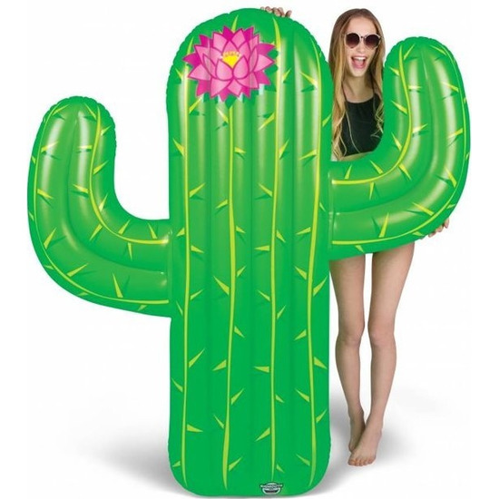 Opblaasbare cactus luchtbed 150 cm speelgoed
