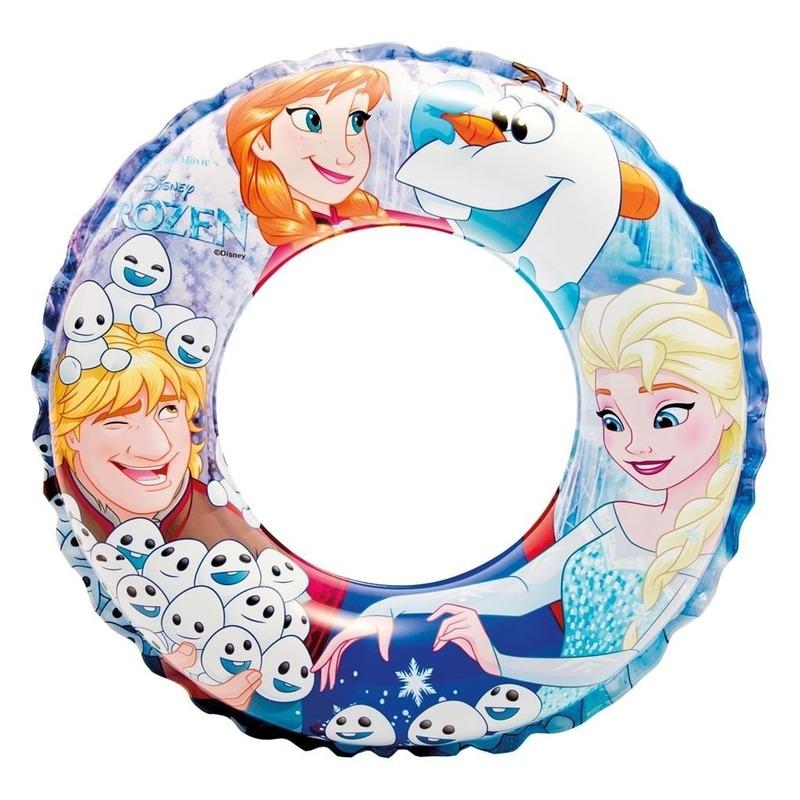 Opblaasbare Disney Frozen zwemband-zwemring 51 cm