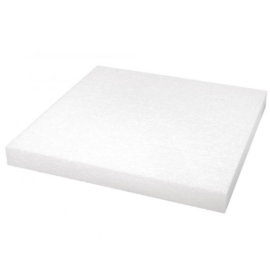 Piepschuim plaat 40x40x4 cm