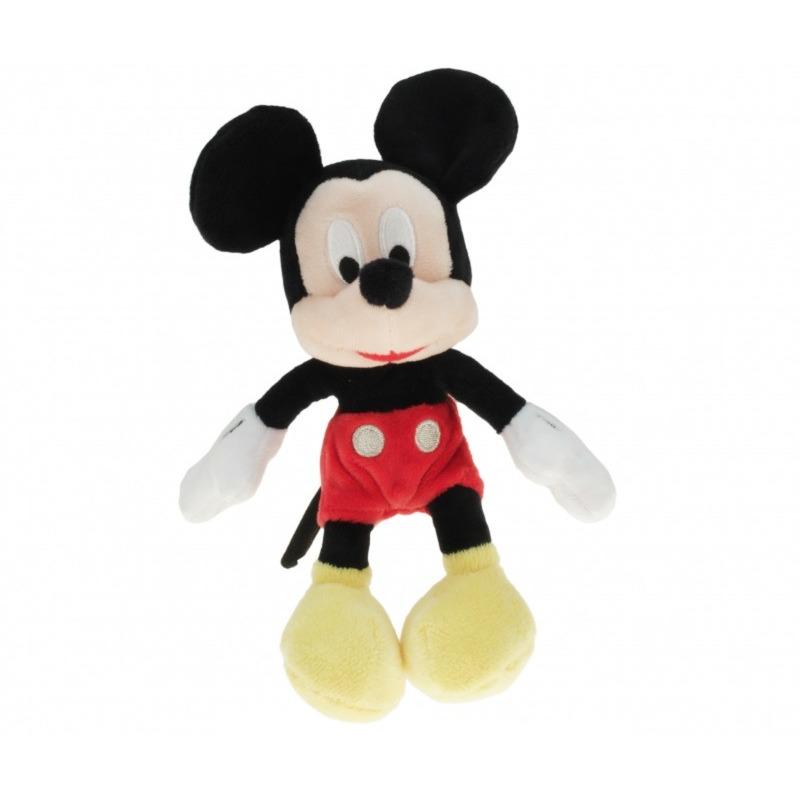 Pluche Disney Mickey Mouse knuffel 18 cm speelgoed
