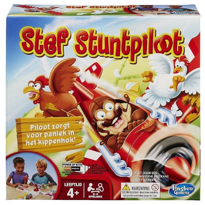 Stef Stuntpiloot gezelschapsspel-familiespel