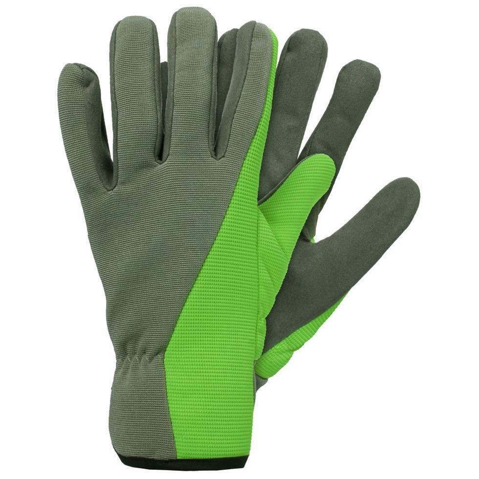 Tuinwerkhandschoenen-werkhandschoenen groen microfiber
