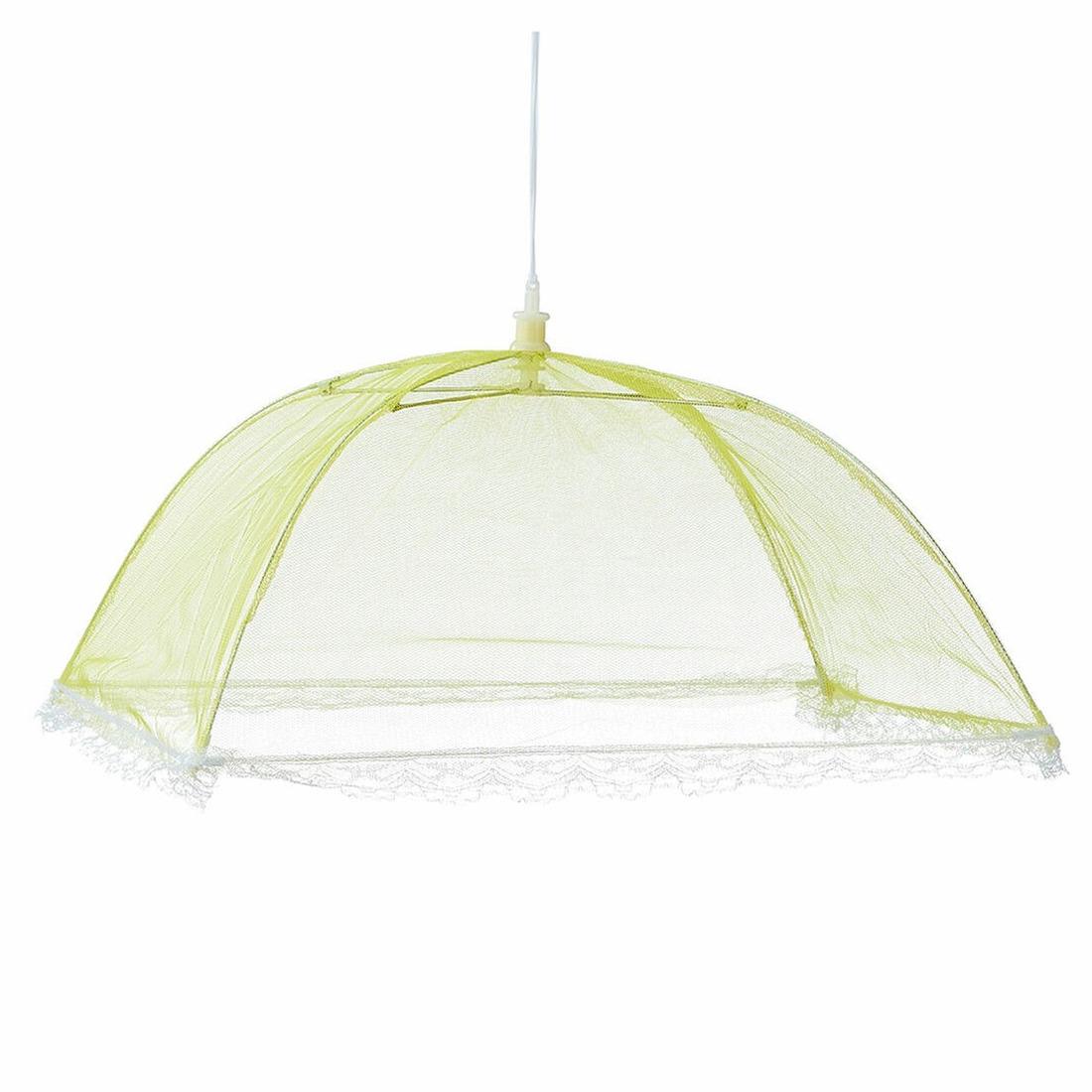 Vliegenkap geel voor voedsel 36 cm