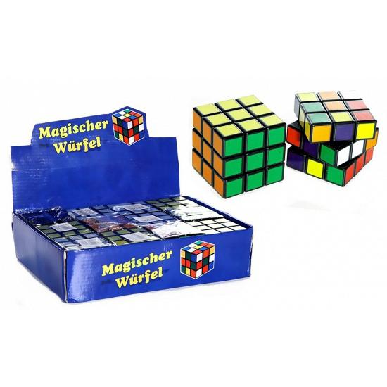 Voordelige kubus puzzel 7 cm