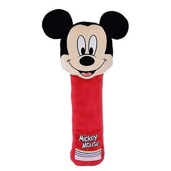 XL pluche Mickey Mouse auto gordelhoes-gordelbeschermer 50 cm