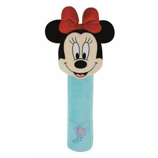 XL pluche Minnie Mouse auto gordelhoes-gordelbeschermer 50 cm